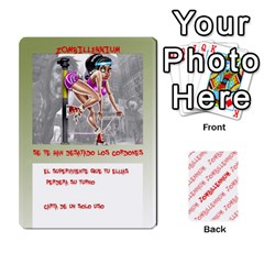 Zombies Aitor By Mrkaf   Playing Cards 54 Designs   X5rhlkwiwtat   Www Artscow Com Front - Joker2