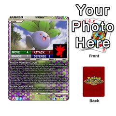Queen Pokemon 1 53 New By Seth   Playing Cards 54 Designs   Brp94g82ab0e   Www Artscow Com Front - SpadeQ