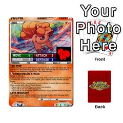 Pokemon 1 53 New By Seth   Playing Cards 54 Designs   Brp94g82ab0e   Www Artscow Com Front - Heart5