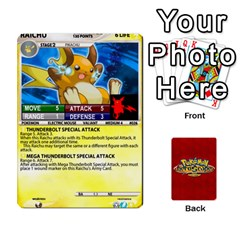 Pokemon 1 53 New By Seth   Playing Cards 54 Designs   Brp94g82ab0e   Www Artscow Com Front - Diamond4