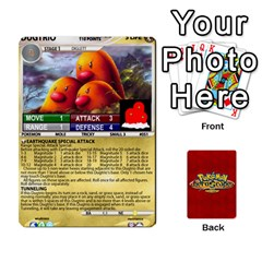 Pokemon 1 53 New By Seth   Playing Cards 54 Designs   Brp94g82ab0e   Www Artscow Com Front - Spade5
