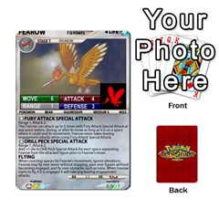 Pokemon 1 53 New By Seth   Playing Cards 54 Designs   Brp94g82ab0e   Www Artscow Com Front - Diamond8