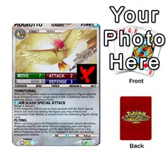 King Pokemon 1 53 New By Seth   Playing Cards 54 Designs   Brp94g82ab0e   Www Artscow Com Front - DiamondK