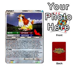 Ace Pokemon 1 53 New By Seth   Playing Cards 54 Designs   Brp94g82ab0e   Www Artscow Com Front - DiamondA