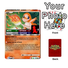 Queen Pokemon 1 53 New By Seth   Playing Cards 54 Designs   Brp94g82ab0e   Www Artscow Com Front - ClubQ