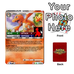 King Pokemon 1 53 New By Seth   Playing Cards 54 Designs   Brp94g82ab0e   Www Artscow Com Front - ClubK