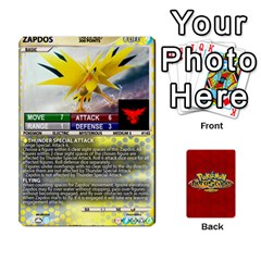 Queen Pokemon 108 151 Extras New By Seth   Playing Cards 54 Designs   Cs5g4wrh2zis   Www Artscow Com Front - SpadeQ