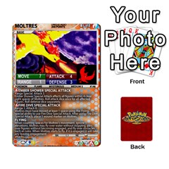 Pokemon 108 151 Extras New By Seth   Playing Cards 54 Designs   Cs5g4wrh2zis   Www Artscow Com Front - Heart2