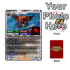 Pokemon 108 151 Extras New By Seth   Playing Cards 54 Designs   Cs5g4wrh2zis   Www Artscow Com Front - Heart7