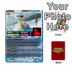 Pokemon 108 151 Extras New By Seth   Playing Cards 54 Designs   Cs5g4wrh2zis   Www Artscow Com Front - Diamond4