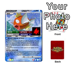Pokemon 108 151 Extras New By Seth   Playing Cards 54 Designs   Cs5g4wrh2zis   Www Artscow Com Front - Diamond6
