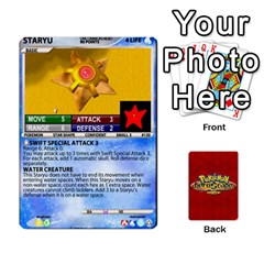 Pokemon 108 151 Extras New By Seth   Playing Cards 54 Designs   Cs5g4wrh2zis   Www Artscow Com Front - Club2
