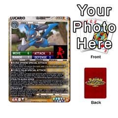 Pokemon 108 151 Extras New By Seth   Playing Cards 54 Designs   Cs5g4wrh2zis   Www Artscow Com Front - Spade6