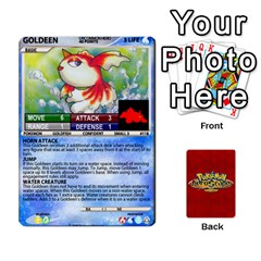 Pokemon 108 151 Extras New By Seth   Playing Cards 54 Designs   Cs5g4wrh2zis   Www Artscow Com Front - Club5