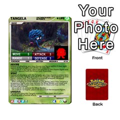Pokemon 108 151 Extras New By Seth   Playing Cards 54 Designs   Cs5g4wrh2zis   Www Artscow Com Front - Club8