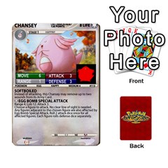 Pokemon 108 151 Extras New By Seth   Playing Cards 54 Designs   Cs5g4wrh2zis   Www Artscow Com Front - Club9