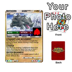 Queen Pokemon 108 151 Extras New By Seth   Playing Cards 54 Designs   Cs5g4wrh2zis   Www Artscow Com Front - ClubQ