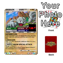 Pokemon 54 107 New By Seth   Playing Cards 54 Designs   8n8gltu1vzq8   Www Artscow Com Front - Diamond8