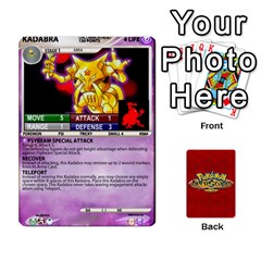 Pokemon 54 107 New By Seth   Playing Cards 54 Designs   8n8gltu1vzq8   Www Artscow Com Front - Club6