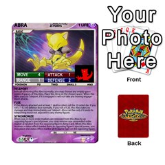 Pokemon 54 107 New By Seth   Playing Cards 54 Designs   8n8gltu1vzq8   Www Artscow Com Front - Club7