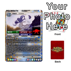 Pokemon 54 107 New By Seth   Playing Cards 54 Designs   8n8gltu1vzq8   Www Artscow Com Front - Club8