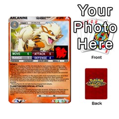 Queen Pokemon 54 107 New By Seth   Playing Cards 54 Designs   8n8gltu1vzq8   Www Artscow Com Front - ClubQ