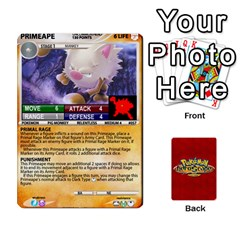 King Pokemon 54 107 New By Seth   Playing Cards 54 Designs   8n8gltu1vzq8   Www Artscow Com Front - ClubK