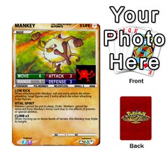 Ace Pokemon 54 107 New By Seth   Playing Cards 54 Designs (rectangle)   8n8gltu1vzq8   Www Artscow Com Front - ClubA