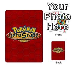 Pokemon 54 107 New By Seth   Playing Cards 54 Designs (rectangle)   8n8gltu1vzq8   Www Artscow Com Back