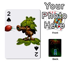 Zelda By Seth   Playing Cards 54 Designs   6ugzjg4fhora   Www Artscow Com Front - Spade2