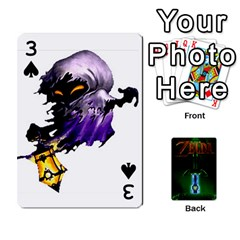 Zelda By Seth   Playing Cards 54 Designs   6ugzjg4fhora   Www Artscow Com Front - Spade3
