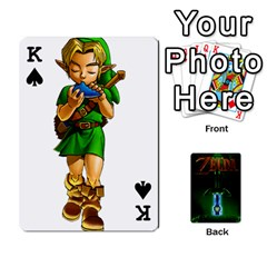 King Zelda By Seth   Playing Cards 54 Designs   6ugzjg4fhora   Www Artscow Com Front - SpadeK