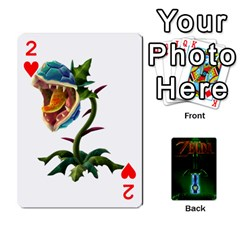 Zelda By Seth   Playing Cards 54 Designs   6ugzjg4fhora   Www Artscow Com Front - Heart2