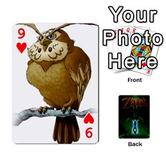 Zelda By Seth   Playing Cards 54 Designs   6ugzjg4fhora   Www Artscow Com Front - Heart9