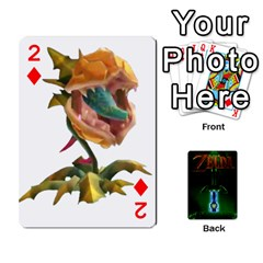 Zelda By Seth   Playing Cards 54 Designs   6ugzjg4fhora   Www Artscow Com Front - Diamond2