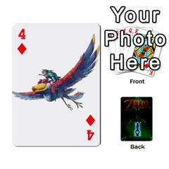 Zelda By Seth   Playing Cards 54 Designs   6ugzjg4fhora   Www Artscow Com Front - Diamond4