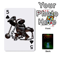 Zelda By Seth   Playing Cards 54 Designs   6ugzjg4fhora   Www Artscow Com Front - Spade5