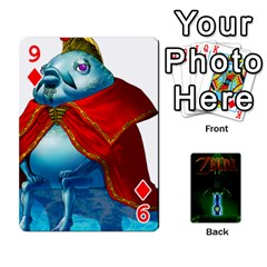Zelda By Seth   Playing Cards 54 Designs   6ugzjg4fhora   Www Artscow Com Front - Diamond9