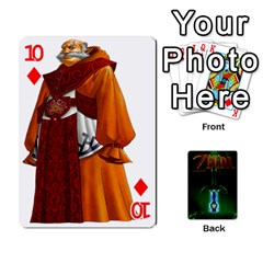 Zelda By Seth   Playing Cards 54 Designs   6ugzjg4fhora   Www Artscow Com Front - Diamond10
