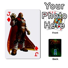 Jack Zelda By Seth   Playing Cards 54 Designs   6ugzjg4fhora   Www Artscow Com Front - DiamondJ