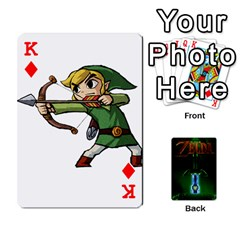 King Zelda By Seth   Playing Cards 54 Designs   6ugzjg4fhora   Www Artscow Com Front - DiamondK