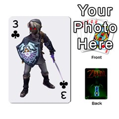 Zelda By Seth   Playing Cards 54 Designs   6ugzjg4fhora   Www Artscow Com Front - Club3
