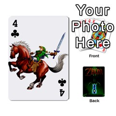 Zelda By Seth   Playing Cards 54 Designs   6ugzjg4fhora   Www Artscow Com Front - Club4
