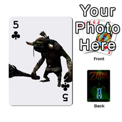 Zelda By Seth   Playing Cards 54 Designs   6ugzjg4fhora   Www Artscow Com Front - Club5