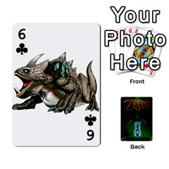 Zelda By Seth   Playing Cards 54 Designs   6ugzjg4fhora   Www Artscow Com Front - Club6