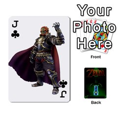 Jack Zelda By Seth   Playing Cards 54 Designs   6ugzjg4fhora   Www Artscow Com Front - ClubJ