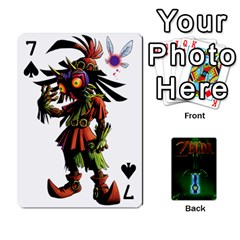 Zelda By Seth   Playing Cards 54 Designs   6ugzjg4fhora   Www Artscow Com Front - Spade7