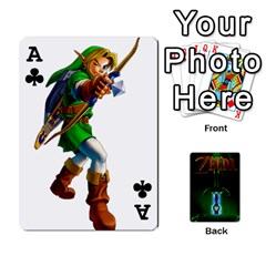 Ace Zelda By Seth   Playing Cards 54 Designs   6ugzjg4fhora   Www Artscow Com Front - ClubA