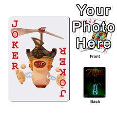 Zelda By Seth   Playing Cards 54 Designs   6ugzjg4fhora   Www Artscow Com Front - Joker2