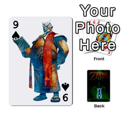 Zelda By Seth   Playing Cards 54 Designs   6ugzjg4fhora   Www Artscow Com Front - Spade9